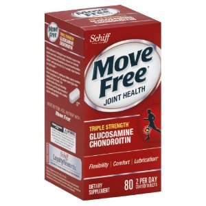 Move Free Triple Strength Glucosamine Chondroitin MSM vitamin D3 and Hyaluronic Acid Joint Supplement, 80 Ct | Jet.com