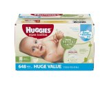 Amazon.com: Huggies Natural Care Baby Wipes, Refill, Unscented, Hypoallergenic, Aloe and Vitamin E, 648 Count: Health & Personal Care