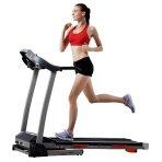 $243.21包邮 Sunny Health & Fitness 可折叠跑步机