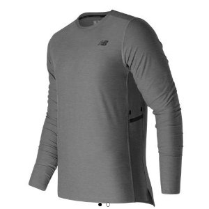 N Transit Long Sleeve Top - Men's 63033 - Tops, Performance - New Balance - US - 2