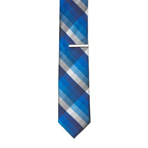 Sherman Plaid Silk Tie