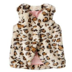 Girls Warm Fuzzies Vest