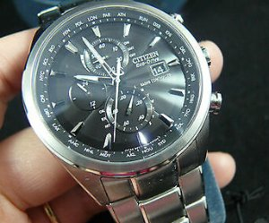 CITIZEN World Chronograph A-T Eco-Drive Men's Watch