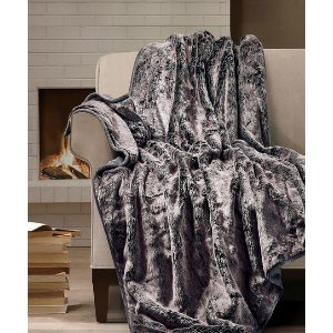 Surely Sable Soft & Luxe Faux Fur Throw | zulily