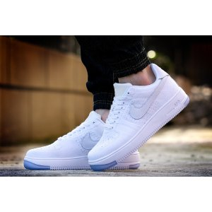 Nike Air Force 1 Flyknit Low Men's Shoe.