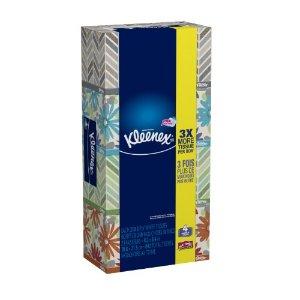 Kleenex Facial Tissues, White, 210 Sheets/Box, 4 Ct | Jet.com