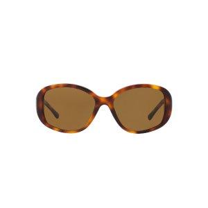 Burberry BE4159 57 Brown & Tortoise Polarized Sunglasses | Sunglass Hut USA