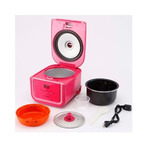 TIGER Electric Rice Cooker/Warmer 3 Cups Pink JAJ-A55U