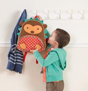 Lowest price! $13.99 Lightning deal! Skip Hop Zoo Pack Little Kid Backpack, Hedgehog