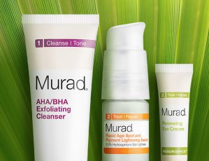 Free FREE Full Size Toner + 3 Deluxe Samples With Any Purchase Over $60 @ Murad