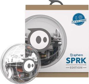寓教于乐!$49.99拓展实验机器人Orbotix SPRK Robot 透明板