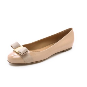 Salvatore Ferragamo Varina Patent Flats | SHOPBOP SAVE UP TO 25% Use Code: GOBIG16