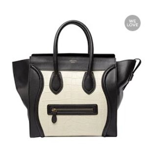 CÉLINE Luggage alligator handbag