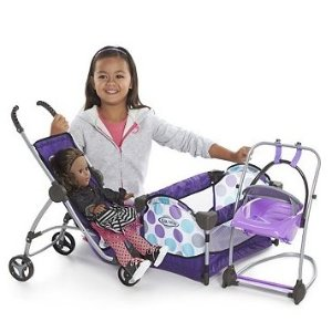 2016 Black Friday! $21.24 Graco Just Like Mom Deluxe Playset
