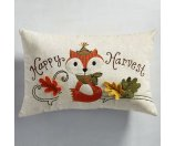 Harvest Traditions Happy Harvest Fox Pillow | Pier 1 Imports