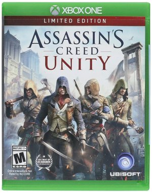 6.95 Assassin's Creed Unity Limited Edition Xbox One