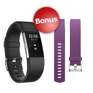 Fitbit Charge HR 2 Wireless Activity Tracker with Bonus Band - Small - BJ's Wholesale Club