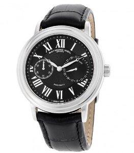 RAYMOND WEIL Maestro Automatic Black Dial Men's Watch 2846STC002