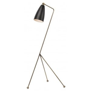 Shany Floor Lamp, Matte Black