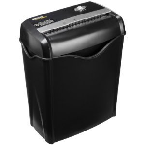 $25.49 AmazonBasics 6-Sheet Cross-Cut Paper and Credit Card Shredder