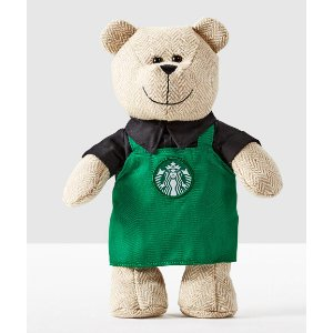 Bearista® Bear with Green Apron | Starbucks® Store