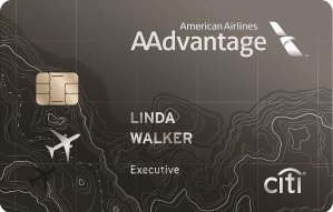 Earn 50,000 American Airlines AAdvantage® bonus milesCiti® / AAdvantage® Executive World Elite™ MasterCard®