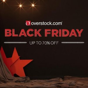 Last day! Sneak Peek Deal, up to 70% off Black Friday Deals 2016 @ Overstock