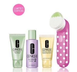 $89.5 Clean Skin, Great Skin Skin Type I/II Gift Set @ Clinique