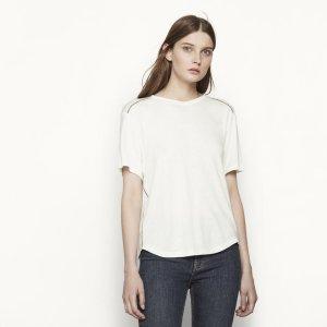 THRILLER T-shirt with ladder stitching - T-shirts - Maje.com
