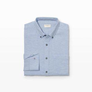 Mens | Solid | Slim Melange Shirt | Club Monaco