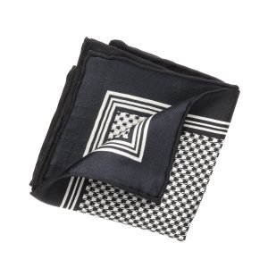 Houndstooth Pocket Square CLEARANCE