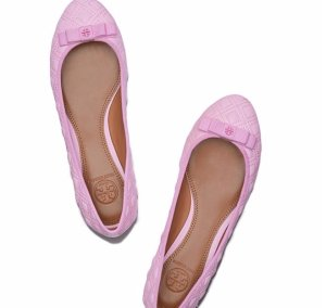 MARION QUILTED BALLET FLAT @ Tory Burch