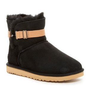 UGG Australia Aurelyn Genuine Shearling Lined Strap Boot @ Nordstrom Rack
