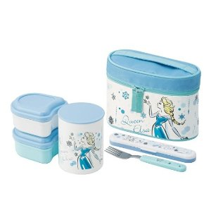 Skater Frozen Bento Box Set @Amazon Japan