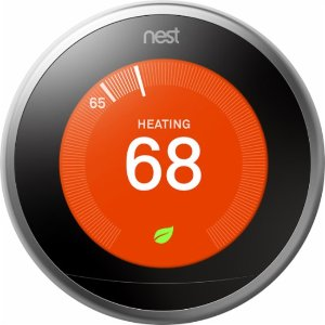 Nest Learning Thermostat - 3rd Generation Silver T3007ES - Best Buy