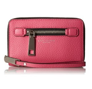 $66.67 Marc Jacobs Gotham City Slgs Zip Phone Wristlet