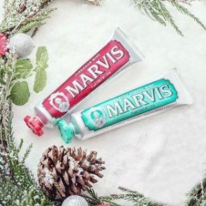 $25 Back with $50 Marvis Toothpastes on Luxury Beauty  Promotion @ Amazon