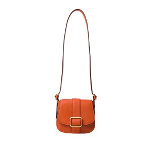 Medium Leather Saddle Bag