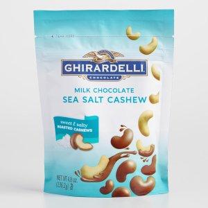 Ghirardelli Milk Chocolate Sea Salt Cashews | World Market
