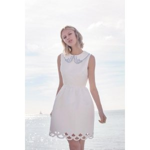 Give You Heaven Dress (White) - Miss Patina - Vintage Inspired Fashion