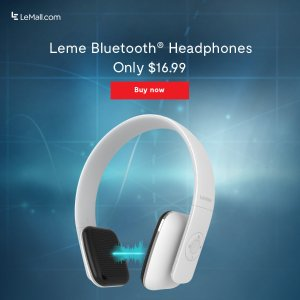 Leme EB20 Bluetooth Headphones
