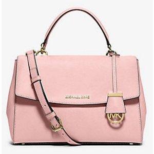Ava Medium Saffiano Leather Satchel