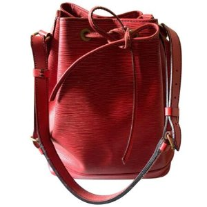 red Leather LOUIS VUITTON Handbag - Vestiaire Collective
