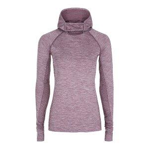 Elite Seamless Long Sleeve Run Top - Purple | long sleeve tops | Sweaty Betty