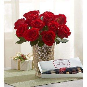 Red Roses For Christmas | 1800Flowers.com - 147711