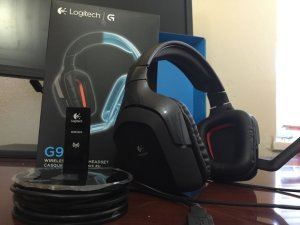 Logitech G930 Wireless Gaming Headset w/ 7.1 Surround Sound