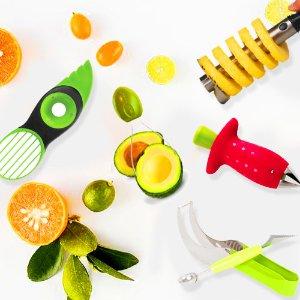 """花样吃水果那些所谓的""""切水果神器""""到底好不好用?"""