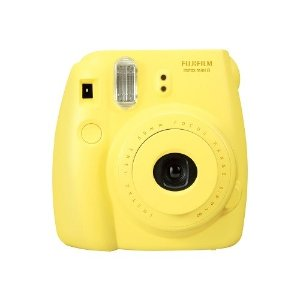 fujifilm instax mini 8 - instant camera - lens: 60 mm - yellow | Jet.com