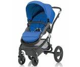 Britax Affinity Complete Stroller, Black - Sky Blue