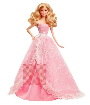 $14.98(reg.$29.99) Barbie Collector 2015 Birthday Wishes Doll